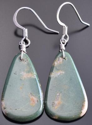 Turquoise Santo Domingo Earrings by Ray Rosetta 8I29O