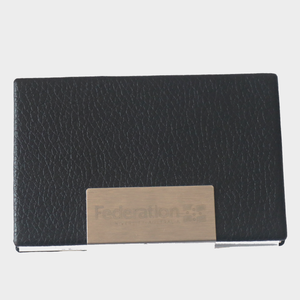 Federation University business card holder