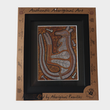Authentic Aboriginal Art Framed Prints