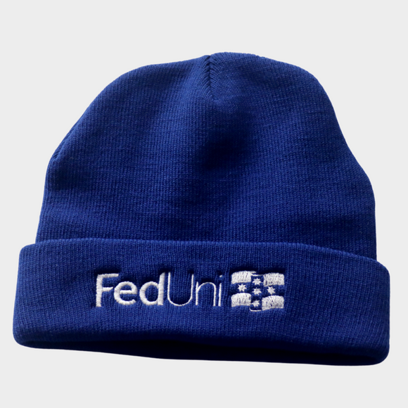 FedUni Electric Blue Beanie