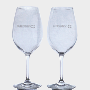 Red Wine Glasses set of 2