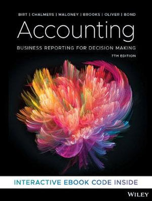 Accounting 5ed: Business Reporting for Decision Making + iStudy Version 3 Registration Card