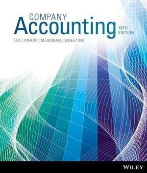 Company Accounting 10ed