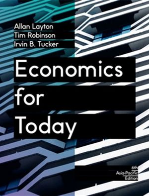 Economics for Today with Online Study Tools 12 months