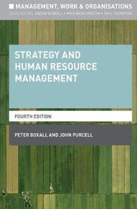 Strategy and Human Resource Management 4ed