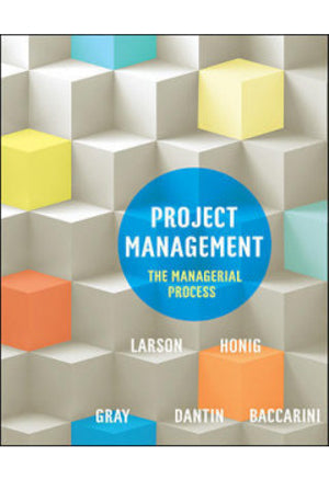 Project Management : The Managerial Process : 1st Australian Adaptation