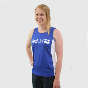 FedUni athletic singlet