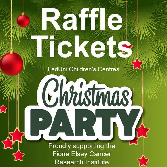 FedUni Children's Centres Christmas Party 2018 Raffle
