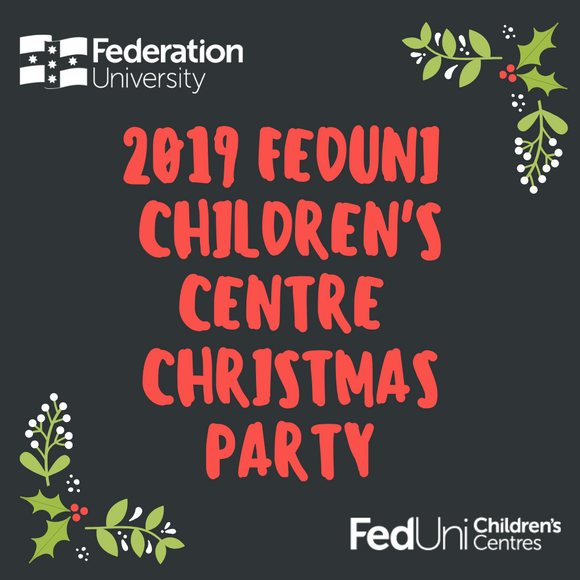 FedUni Children's Centres Christmas Party 2019 Raffle