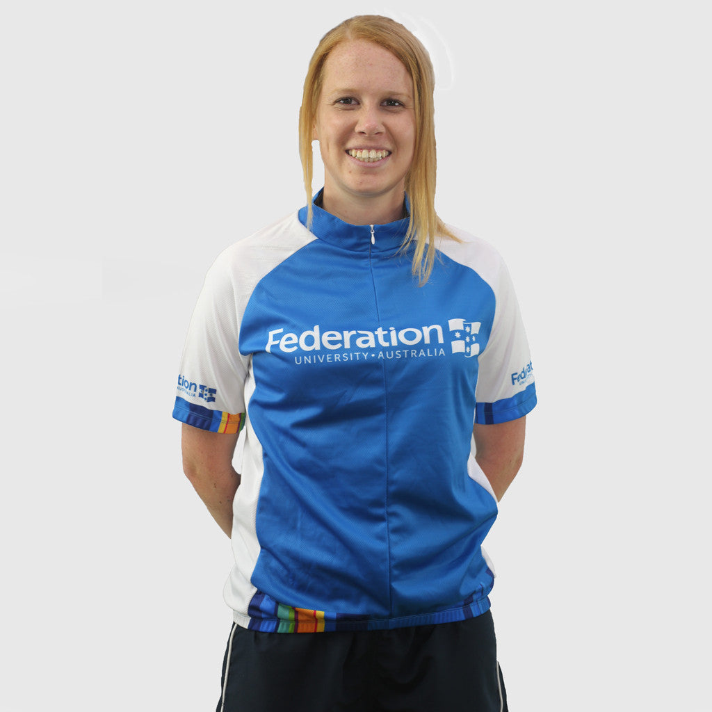 FedUni cycling jersey