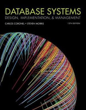 Database Systems: Design, Implementations & Management