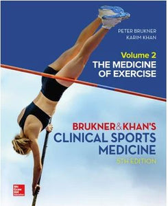 Clinical Sports Medicine: The Medicine Of Exercise