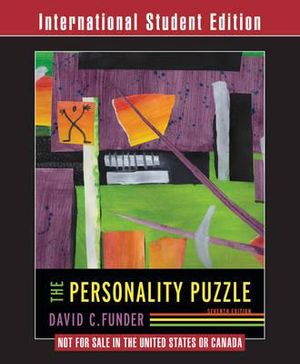 Personality Puzzle 7ed : International Student Edition