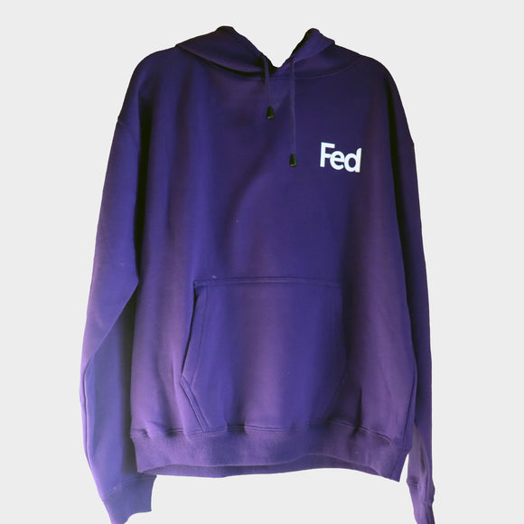 Fed Hoodie | Grape