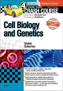 Crash Course Cell Biology and Genetics 4ed Updated + eBook