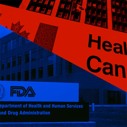 Differences between the FDA and Health Canada