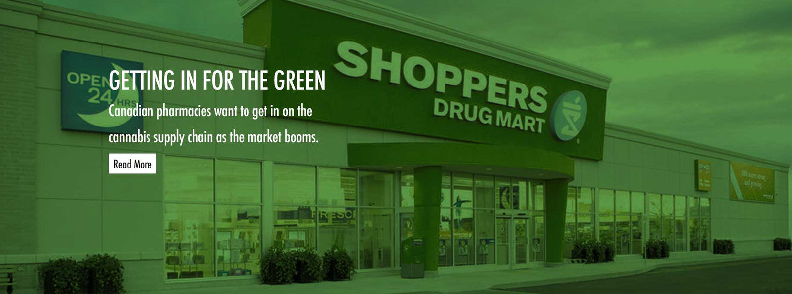 Shoppers Drug Mart Selling Medical Marijuana