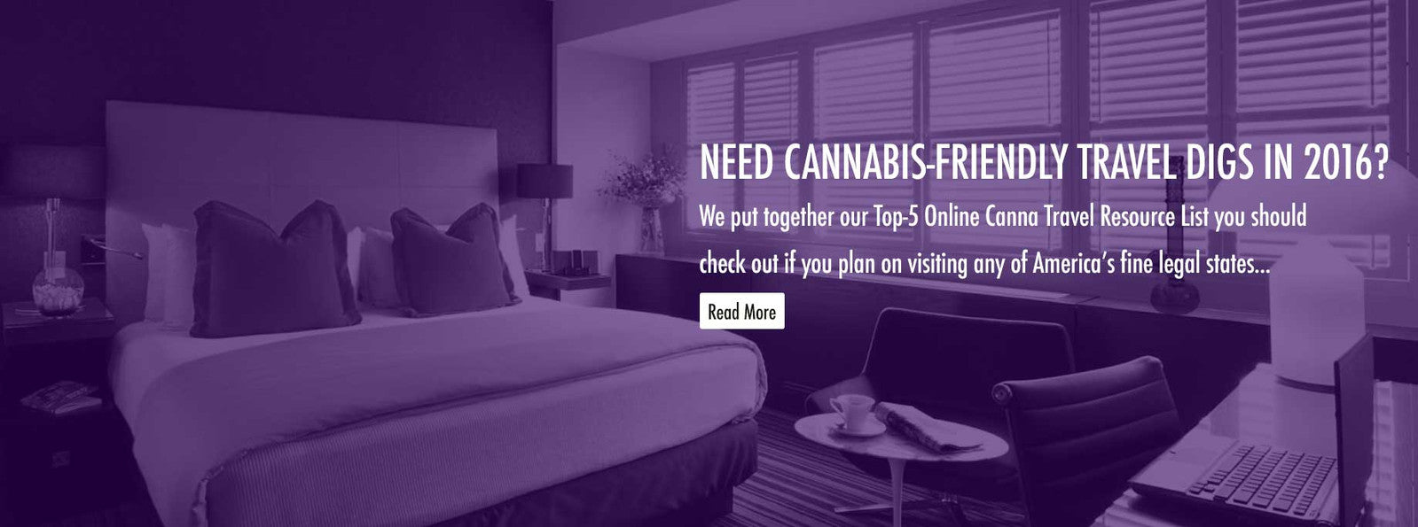 Cannabis Friendly Travel Accommodations
