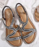 Glittery strappy sandals