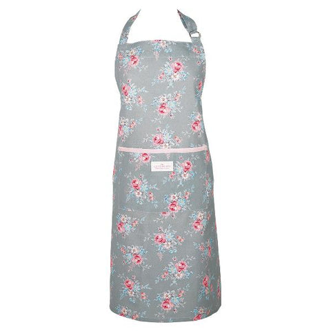 Apron - Marie pale grey