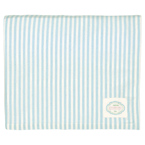 Tablecloth - ALICE stripe pale blue 145 x 250cm