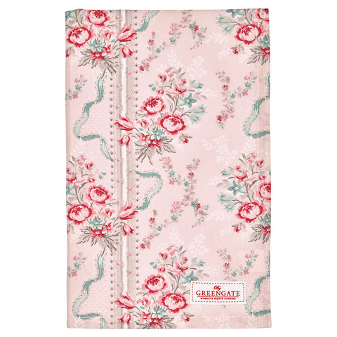 Tea towel - Betty pink