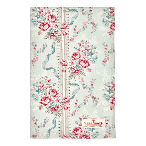 Tea towel - Betty mint