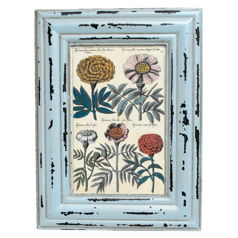 Powder blue Rectangular picture frame