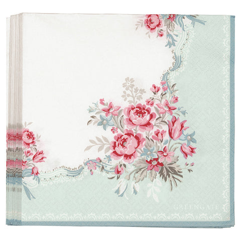 Paper napkin (large) - Betty mint 20 pcs