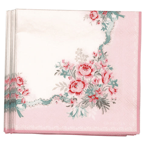 Paper napkin (small) - Betty pink 20 pcs