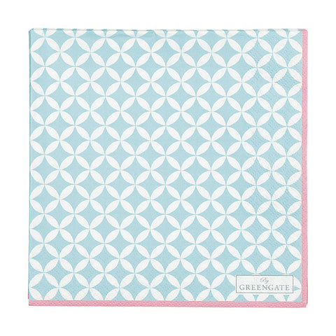 Paper napkin (large) - Mai blue 20 pcs