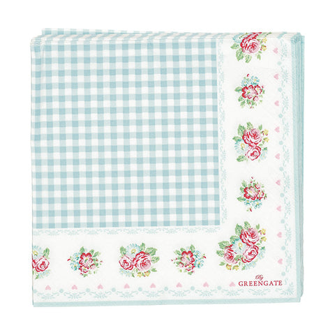 Paper napkin (large) - Smilla white 20 pcs
