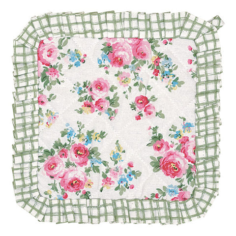 Set/2 Pot holder - Simone white