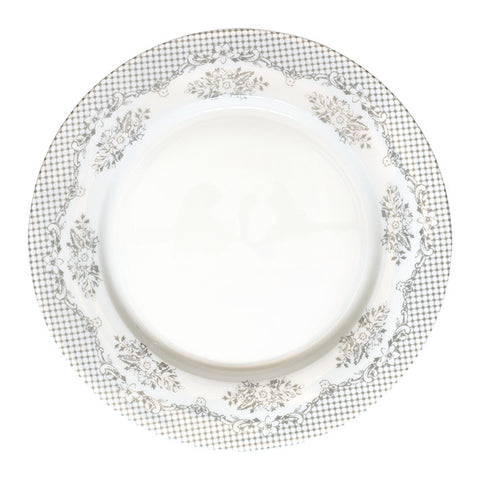 Dinner plate - Stephanie warm grey