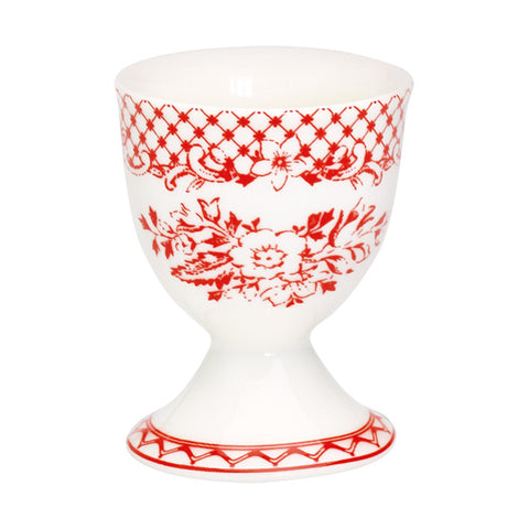 Egg cup - Stephanie red