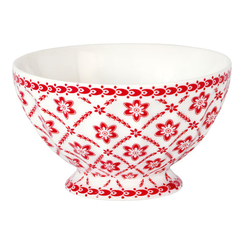 French bowl - Alba red medium