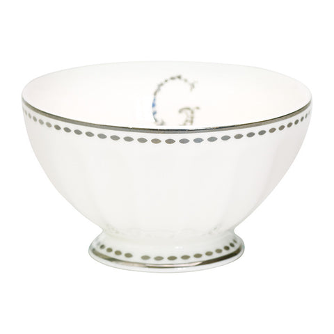 French bowl G silver medium