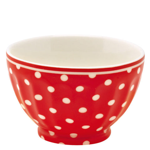 French bowl - Spot red S