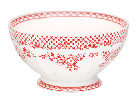 French bowl - Stephanie red XL