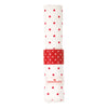 Napkin ring Star red