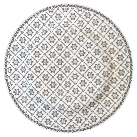 Dinner Plate - Alba pale grey