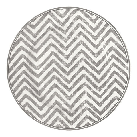 Plate - Ziggy warm grey