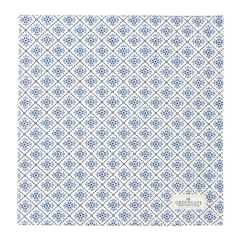 Tablecloth - Oona blue 150x150cm