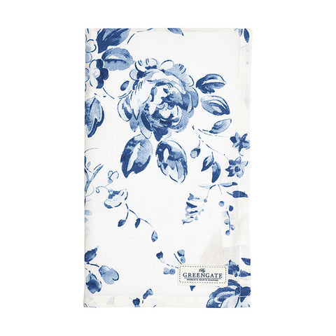 Tea towel - Amanda Indigo