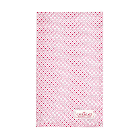 Tea towel - Noa raspberry