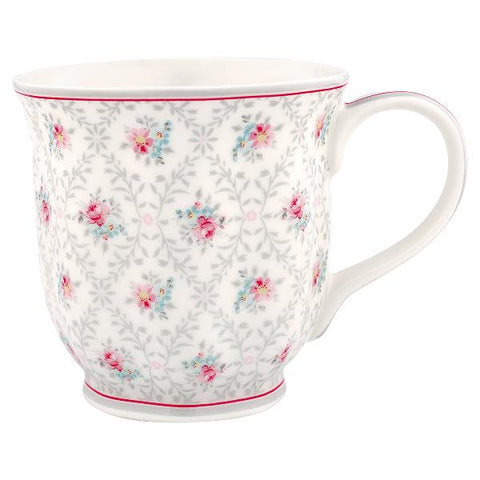 Mug - Daisy pale grey