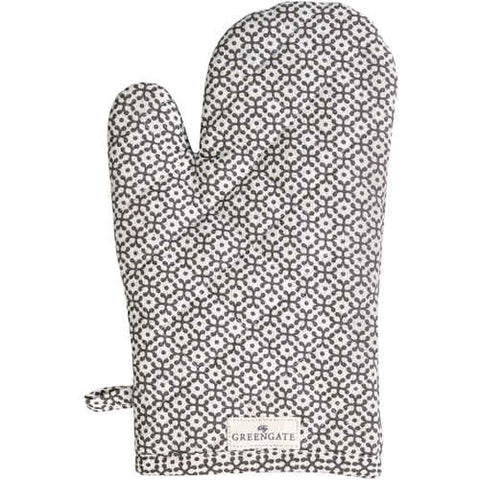 Set of 2 Grill glove - Jasmina warm grey
