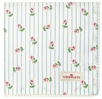 Cloth napkin - Lily white