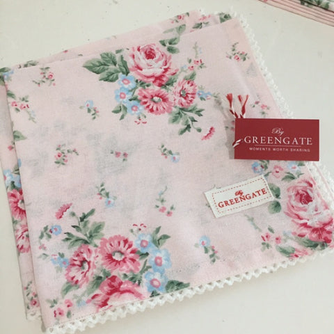 Cloth napkin - Marley Pale pink