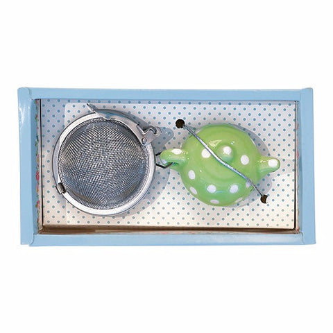 Tea infuser - Simone green